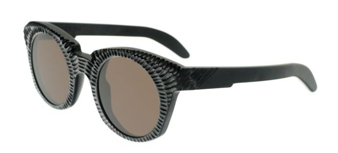 Kuboraum zonnebrillen MASK U6 MATTE BLACK FOSSIL