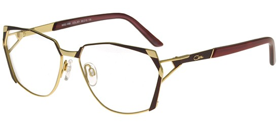 Cazal 1099 BURGUNDY GOLD