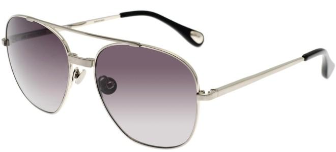 Linda Farrow sunglasses ANN DEMEULEMEESTER 12 BRUSHED SILVER BLACK