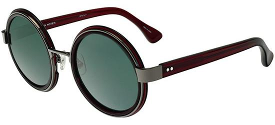 DRIES VAN NOTEN 76 BURGUNDY GUNMETAL