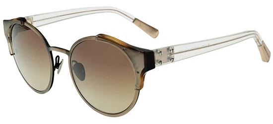Linda Farrow KRISVANASSCHE 51 TORTOISE SHELL ANTIQUE GOLD