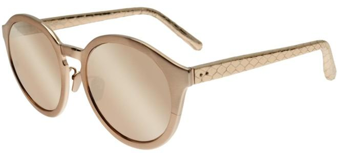 Linda Farrow sunglasses LINDA FARROW 338 ROSE GOLD SNAKESKIN