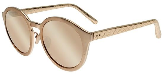 LINDA FARROW 338 ROSE GOLD SNAKESKIN