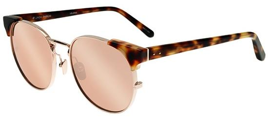LINDA FARROW 370 ROSE GOLD TORTOISE SHELL