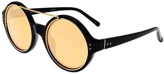 Linda Farrow LINDA FARROW 376 BLACK YELLOW GOLD