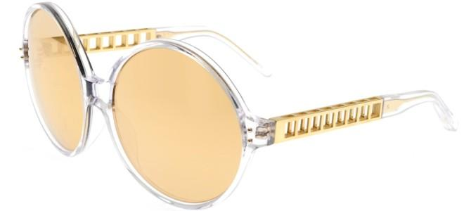 Linda Farrow solbriller LINDA FARROW 451 CLEAR YELLOW GOLD
