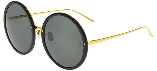 LINDA FARROW 457 BLACK YELLOW GOLD