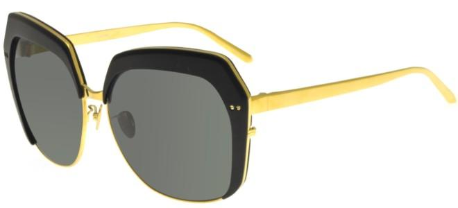 Linda Farrow sunglasses LINDA FARROW 578 BLACK ALUMINIUM