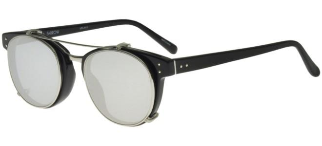 Linda Farrow sunglasses LINDA FARROW 581 BLACK WHITE GOLD