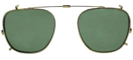 Garrett Leight BROOKS CLIP-ON GOLD GREEN