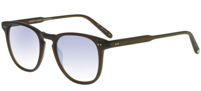 Garrett Leight BROOKS MATTE ESPRESSO GOLD