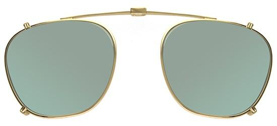 Garrett Leight GRANT GOLD CLIP-ON
