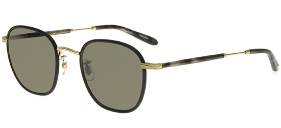 Garrett Leight GRANT MATTE BLACK GOLD