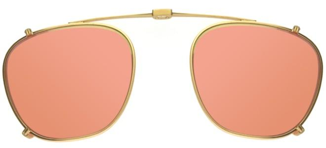 Garrett Leight GRANT MATTE GOLD CLIP-ON