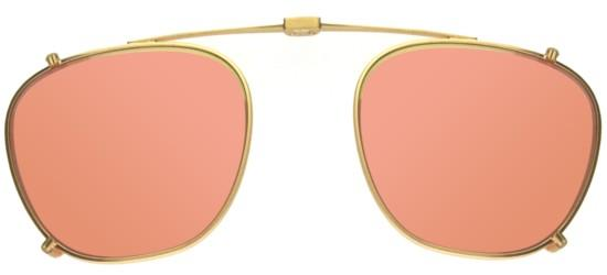 GRANT MATTE GOLD CLIP-ON