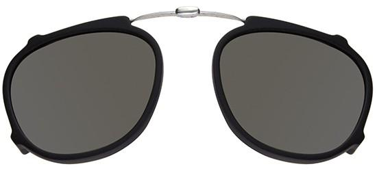 Garrett Leight HAMPTON MATTE BLACK FOLDING CLIP-ON