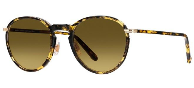 Garrett Leight HORIZON BLACK AMBER GOLD