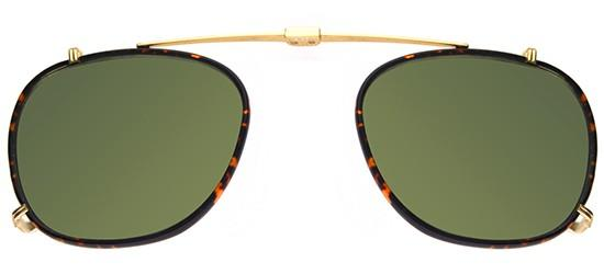 KINNEY GOLD TORTOISE CLIP-ON