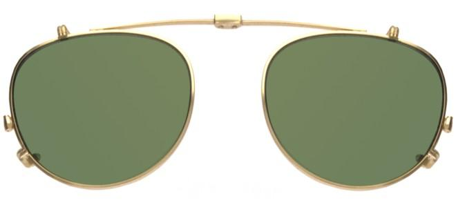 Garrett Leight MILWOOD GOLD CLIP-ON