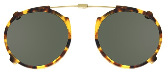 Garrett Leight PENMAR CLIP-ON GOLD