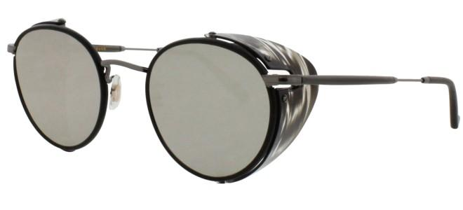 Garrett Leight WILSON SUN SHIELD BLACK STRIPED