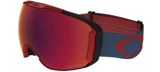 Oakley AIRBRAKE XL OO 7071 RED LEGION BLUE/PRIZM SNOW TORCH IRIDIUM