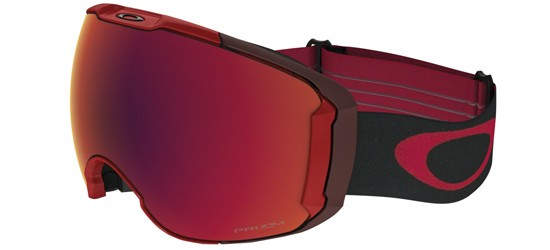 Oakley AIRBRAKE XL OO 7071 OBSESSIVE LINES RED/PRIZM SNOW TORCH IRIDIUM