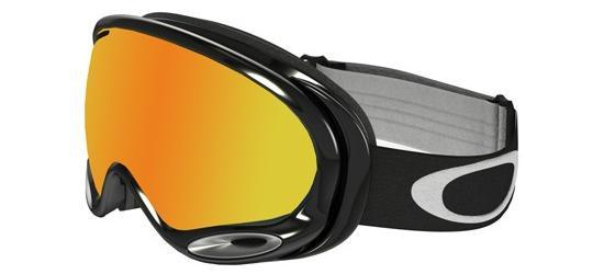 Oakley A-FRAME 2.0 OO 7044 JET BLACK/FIRE IRIDIUM