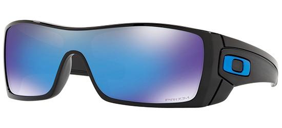 Oakley Batwolf, Sonnenbrille Prizm Schwarz Blau-Verspiegelt (Sapphire)