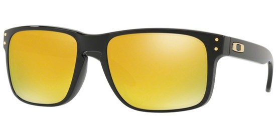 Oakley HOLBROOK OO 9102 POLISHED BLACK/24K IRIDIUM