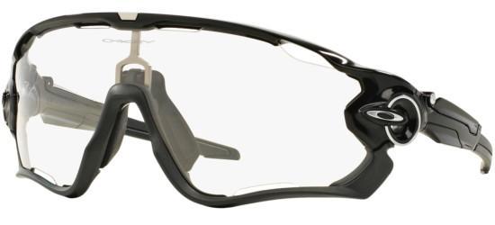 Oakley JAWBREAKER OO 9290 POLISHED BLACK/CLEAR BLACK IRIDIUM PHOTOCHROMIC ACTIVATED