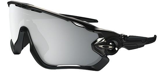 Oakley JAWBREAKER OO 9290 POLISHED BLACK/CHROME IRIDIUM