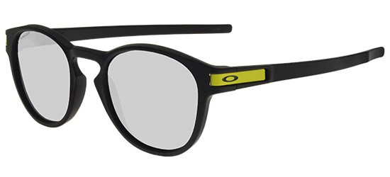 Oakley LATCH OO 9265 MATTE BLACK/CHROME IRIDIUM