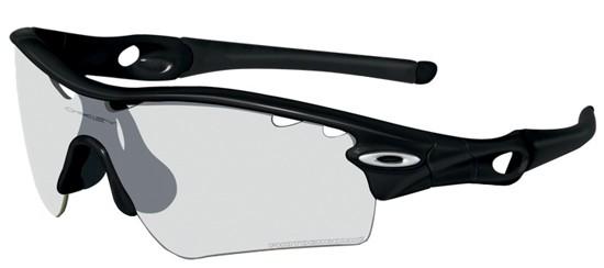 Oakley OO 9051 RADAR PATH POLISHED BLACK/CLEAR BLACK IRIDIUM PHOTOCHROMIC