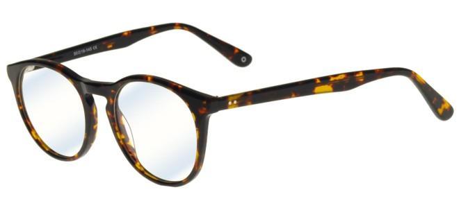 zerOne five eyeglasses ZO AC45-B BLUE BLOCK