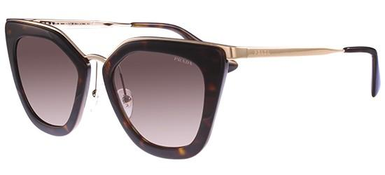 Prada PRADA CINÉMA EVOLUTION SPR 53SS DARK HAVANA/LIGHT BROWN GREY SHADED