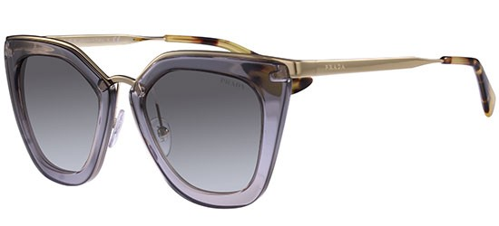 Prada PRADA CINÉMA EVOLUTION SPR 53SS TRANSPARENT GREY/GREY SHADED