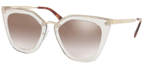 Prada PRADA CINÉMA EVOLUTION SPR 53SS TRANSPARENT BROWN/BROWN SHADED SILVER