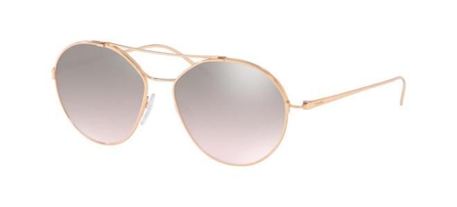 Prada solbriller PRADA FULL METAL TEMPLE SPR 56US