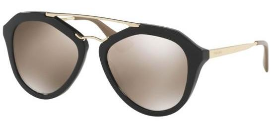 Prada PRADA SPR 12QS BLACK/BROWN GOLD MIRROR