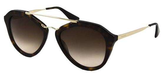 Prada PRADA SPR 12QS HAVANA GOLD/BROWN SHADED