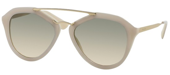 Prada PRADA SPR 12QS LIGHT GREY/LIGHT BROWN GREY SHADED