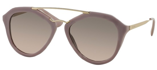 Prada PRADA SPR 12QS DARK PINK/GREY PINK SHADED