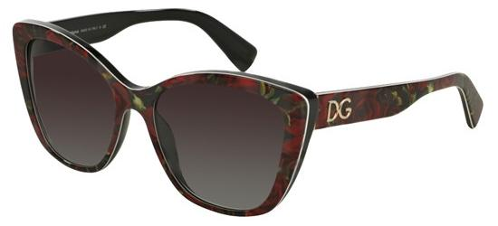 Dolce & Gabbana DG 4216 ROSES BLACK/GREY SHADED