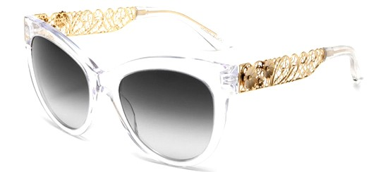 Dolce & Gabbana FILIGRANA DG 4211 CRYSTAL/GREY SHADED