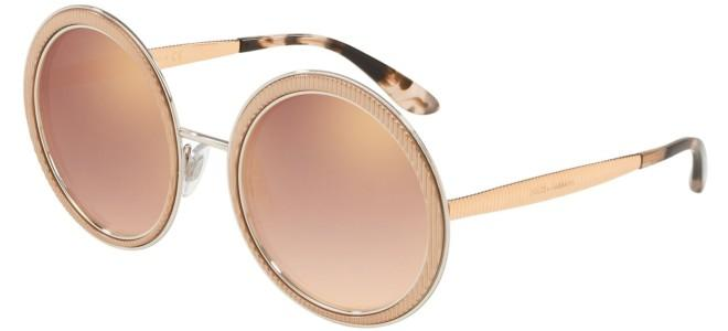 ab585f88ac87 Dolce & Gabbana GROS GRAIN DG 2179 Rose Gold/pink Shaded (1298/6F)
