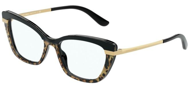 Dolce & Gabbana eyeglasses HALF PRINT DG 3325