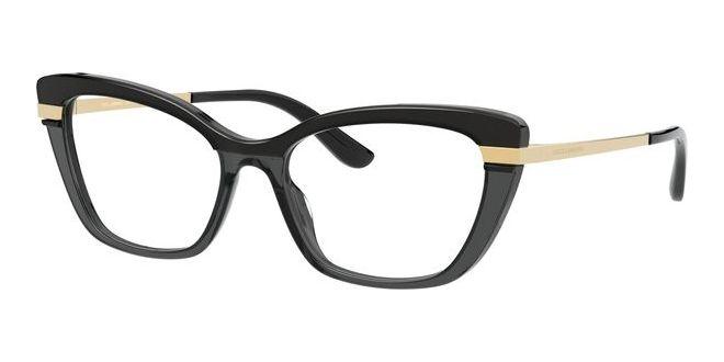 Dolce & Gabbana briller HALF PRINT DG 3325