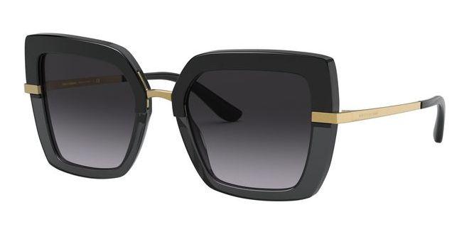 Dolce & Gabbana solbriller HALF PRINT DG 4373