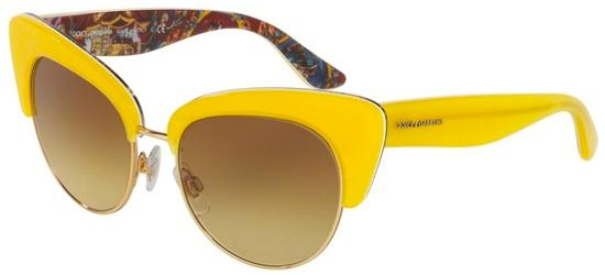 Dolce & Gabbana SICILIAN CARRETTO DG 4277 YELLOW HANDCART/BROWN YELLOW SHADED
